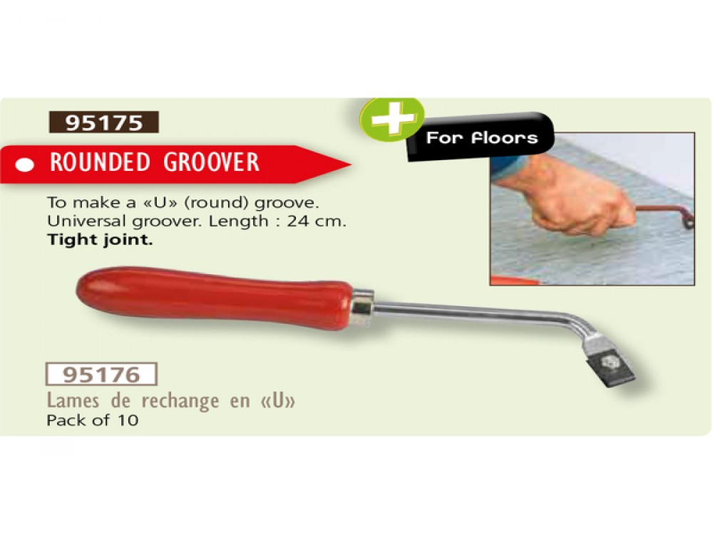 ROUNDED GROOVER